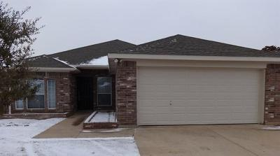 Azle Residential Lease For Lease: 1121 Monticello Drive