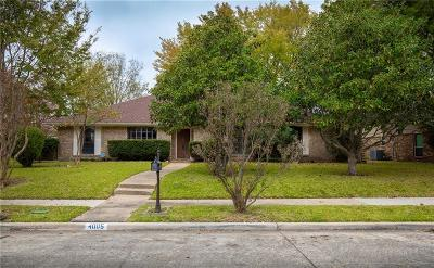 Plano Single Family Home For Sale: 4005 Medina Drive