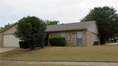 Fort Worth Single Family Home For Sale: 7541 Red Willow Road