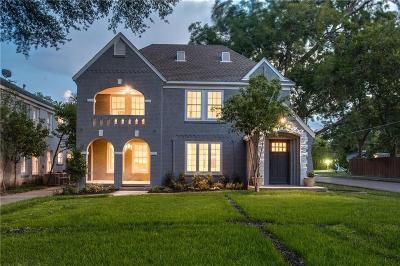 Dallas Single Family Home For Sale: 5900 Marquita