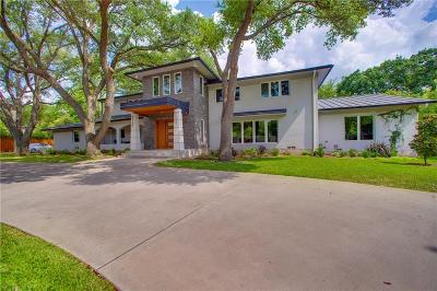 Single Family Home For Sale: 4611 Walnut Hill Lane
