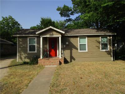 Waxahachie Single Family Home For Sale: 216 Pecan Street