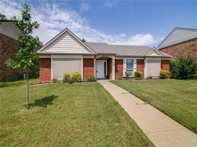 Rowlett Single Family Home Active Option Contract: 4201 Mediterranean Drive