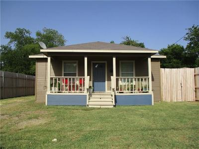 Waxahachie Single Family Home Active Option Contract: 108 Cook Street