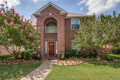 Dallas Single Family Home Active Option Contract: 17846 Benchmark Drive