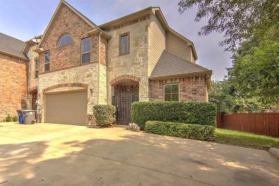 Dallas, Fort Worth Townhouse For Sale: 2202 Apollonia Lane