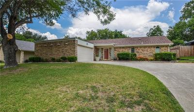 North Richland Hills Residential Lease For Lease: 6713 Fair Meadows Drive