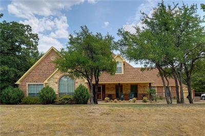 Azle Single Family Home For Sale: 105 Preston Oaks Court