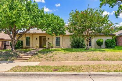 Carrollton Single Family Home For Sale: 2107 Pueblo Drive