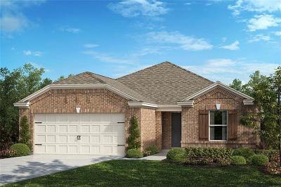 Aubrey Single Family Home For Sale: 2612 Wheeler Avenue