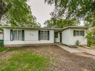 Seagoville Single Family Home For Sale: 516 Highland Drive
