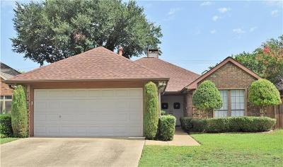 Carrollton Single Family Home Active Option Contract: 2721 Sedgeway Lane