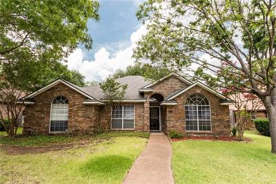 Lewisville Single Family Home Active Option Contract: 1918 Hidden Trail Drive