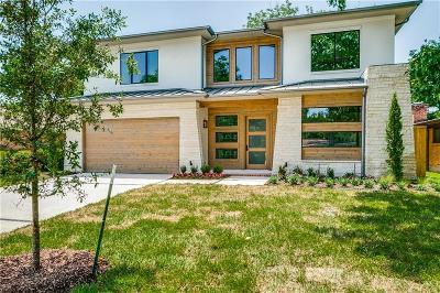 Dallas Single Family Home For Sale: 7030 Clemson Drive