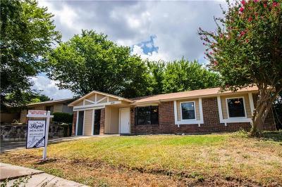 Garland Single Family Home For Sale: 1513 Frio Lane