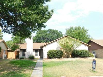 Lewisville Single Family Home For Sale: 644 Red River Drive