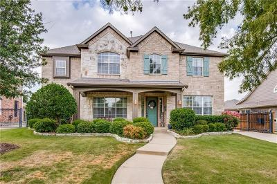 Lewisville Single Family Home Active Option Contract: 2508 Sir Tristram Lane