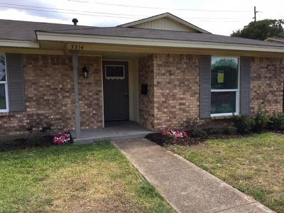 Garland Single Family Home For Sale: 3314 Hillsdale Lane