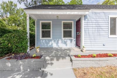Dallas Single Family Home For Sale: 3019 Maryland Avenue