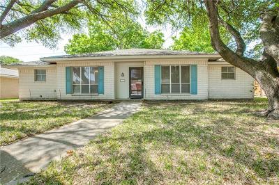 Richardson Single Family Home For Sale: 1810 University Drive