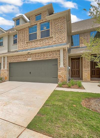 Plano Townhouse For Sale: 2316 Molly Lane