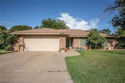 Abilene Single Family Home For Sale: 4689 Pamela Drive