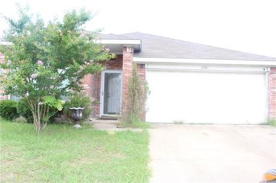 Royse City Single Family Home For Sale: 1124 Courtney Drive