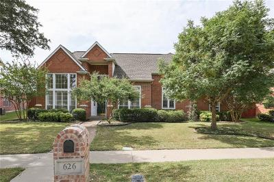 Richardson Single Family Home For Sale: 626 Pine Valley