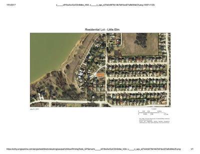 Little Elm Residential Lots & Land For Sale: 807 Hillside Beach Drive