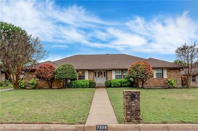 Dallas, Fort Worth Single Family Home For Sale: 7308 Bramblewood Road