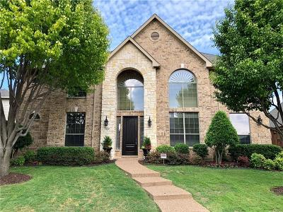 Plano Single Family Home Active Option Contract: 8112 Ambiance Way