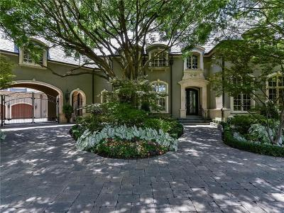 Dallas Single Family Home For Sale: 4346 Park Lane