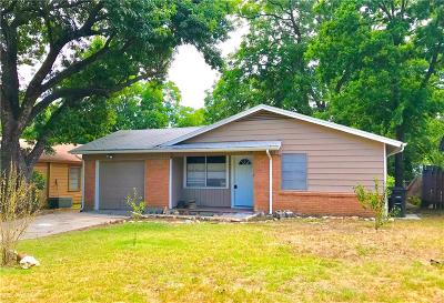 Fort Worth Single Family Home For Sale: 4725 Sandage Avenue