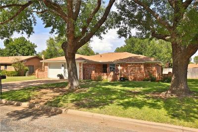 Abilene Single Family Home For Sale: 4625 Pamela Drive