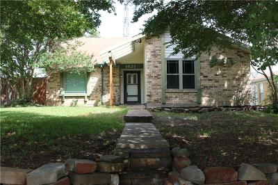 Mesquite Single Family Home For Sale: 1621 Golden Grove Drive