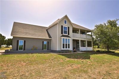 Abilene Single Family Home For Sale: 1869 Deer Trail