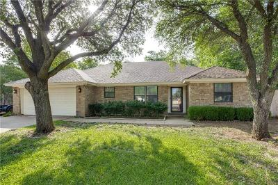 Crowley Single Family Home Active Option Contract: 208 Hall Drive