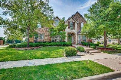 The Colony Single Family Home Active Option Contract: 6437 Wexley Lane