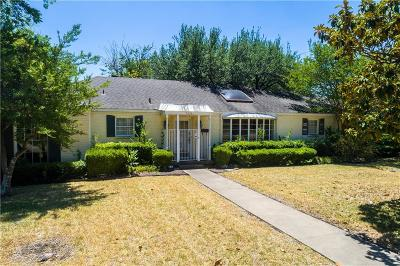 Dallas Single Family Home For Sale: 5626 Charlestown Drive