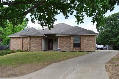 Arlington Single Family Home Active Option Contract: 5201 Stagetrail Drive