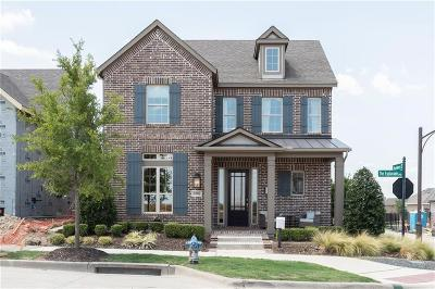 McKinney Single Family Home For Sale: 5900 The Esplanade