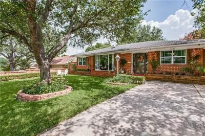 Dallas Single Family Home For Sale: 8819 Larchwood Drive