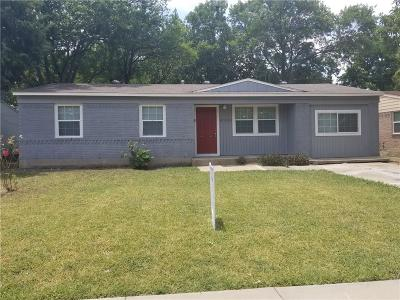Mesquite Single Family Home Active Option Contract: 4535 San Marcus Drive