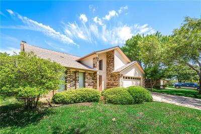 Euless Single Family Home Active Option Contract: 800 Park Hill Drive
