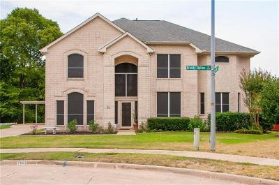 Mesquite Single Family Home Active Contingent: 1803 Brandy Station Drive