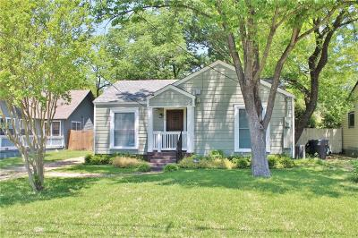 Dallas Single Family Home For Sale: 1610 Lakeland Drive