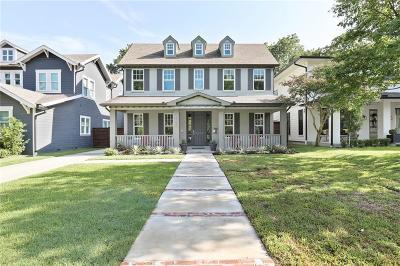 Single Family Home For Sale: 5705 Palo Pinto Avenue