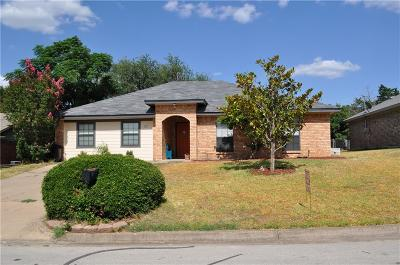 Joshua Single Family Home Active Option Contract: 207 Marie Court
