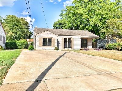 Dallas Single Family Home For Sale: 2630 Easter Avenue