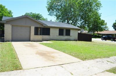 Mesquite Single Family Home Active Option Contract: 701 Grubb Circle